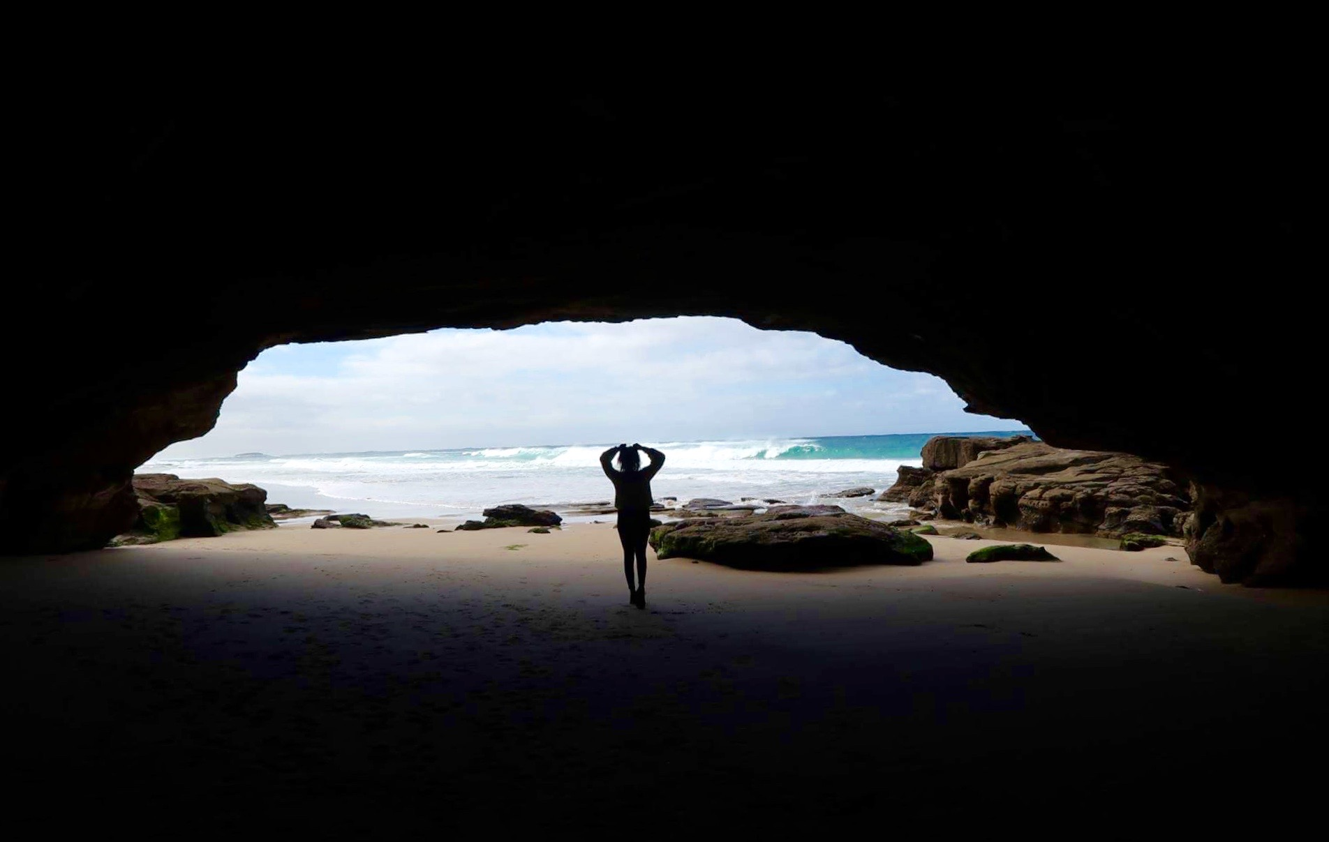 Caves, Beach