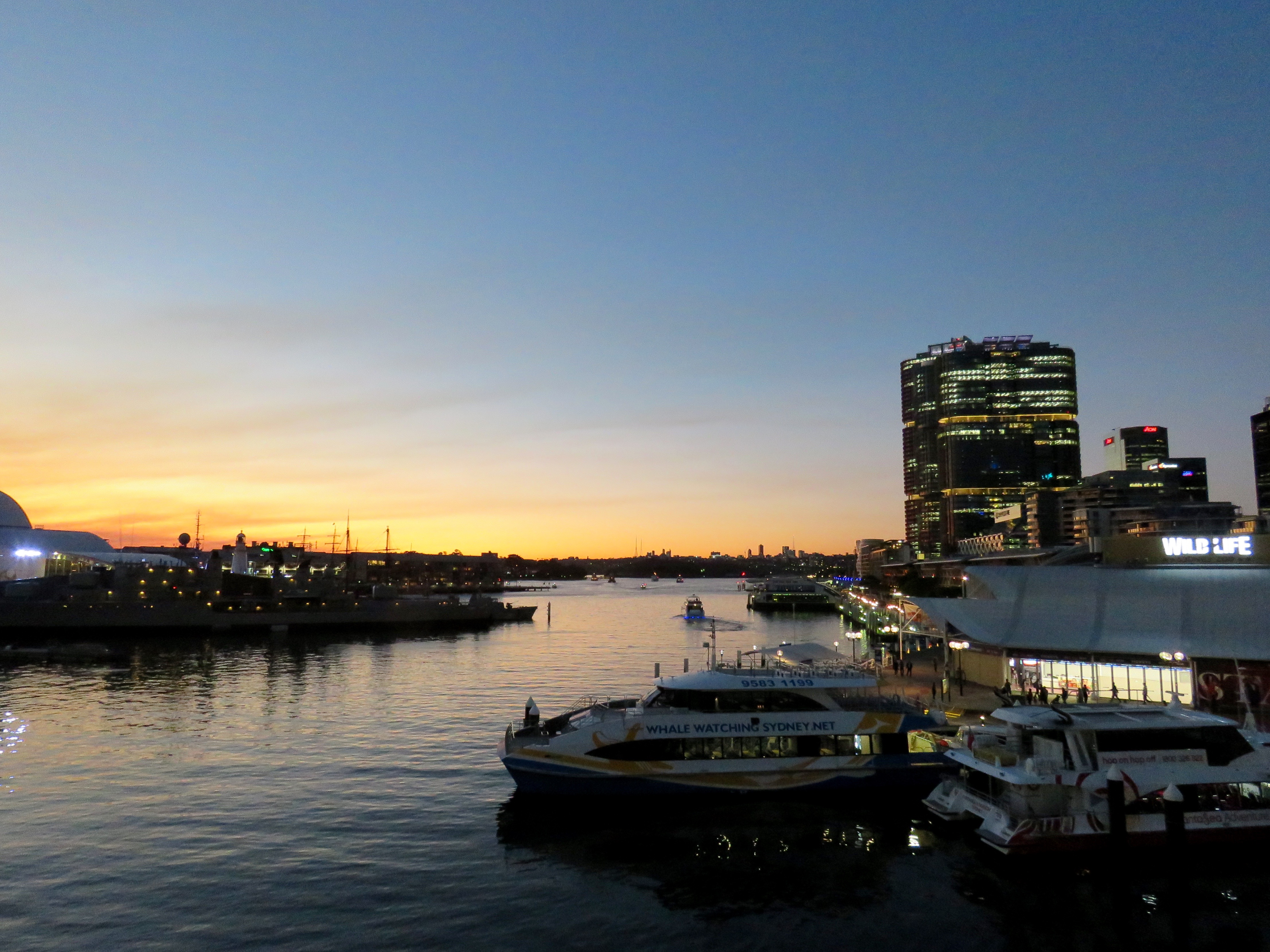 Darling Harbour, Sunset