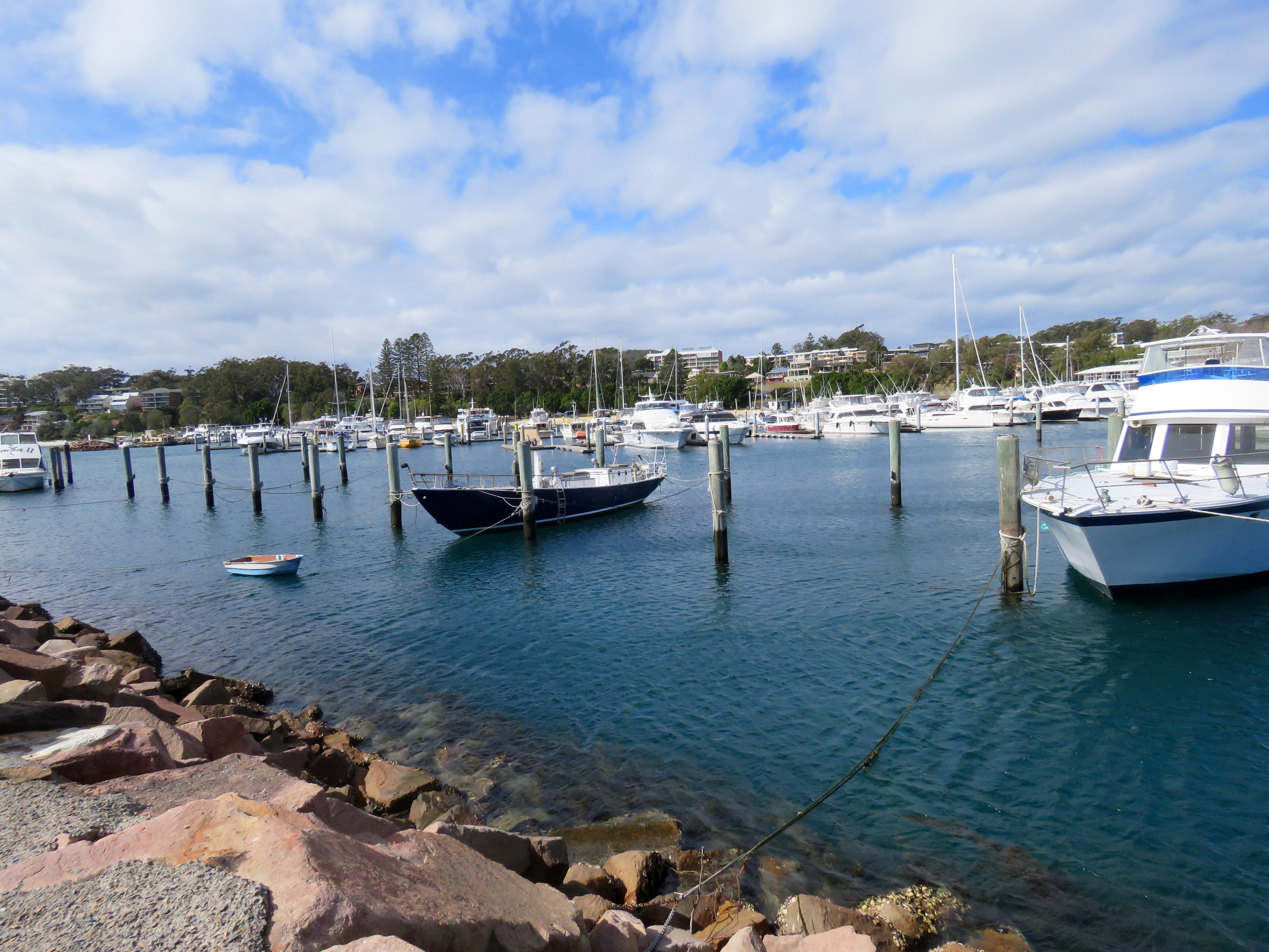 Boats. Harbour, Sea, Port Stephens